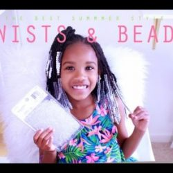 Twists & Beads: Protective Style for Little Girls