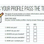 Does your Social Media Profile Pass the Test?